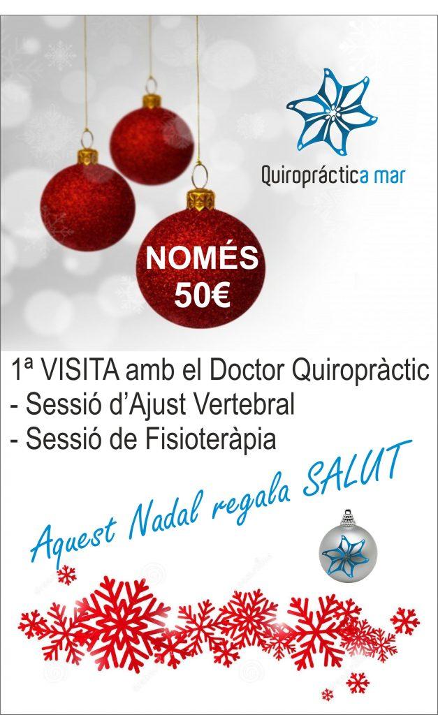 promocion navidad quiropractica salud